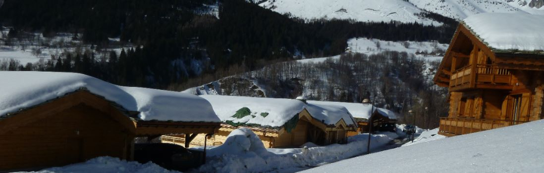 Beautiful chalets